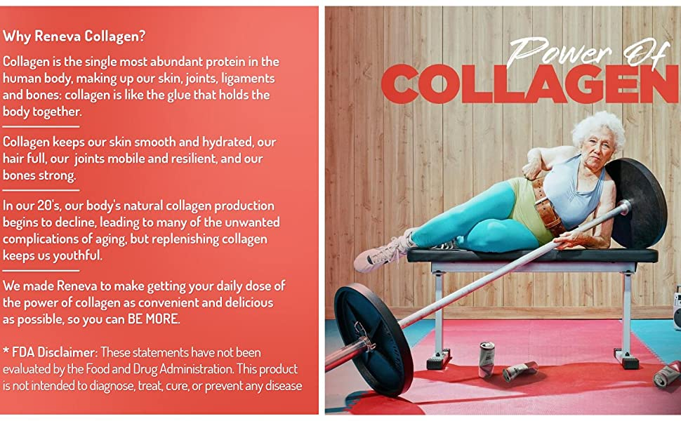 work out collagen power of protein
