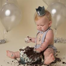 baby adjustable cake suspender outfit