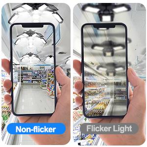Non-fliker light
