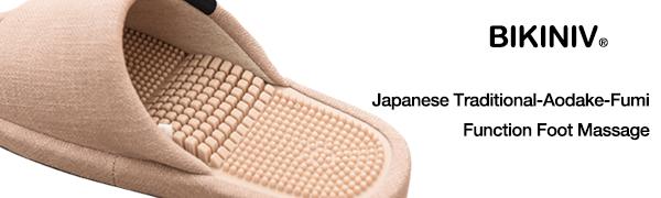Japanese traditional Aodake-fumi function foot massage
