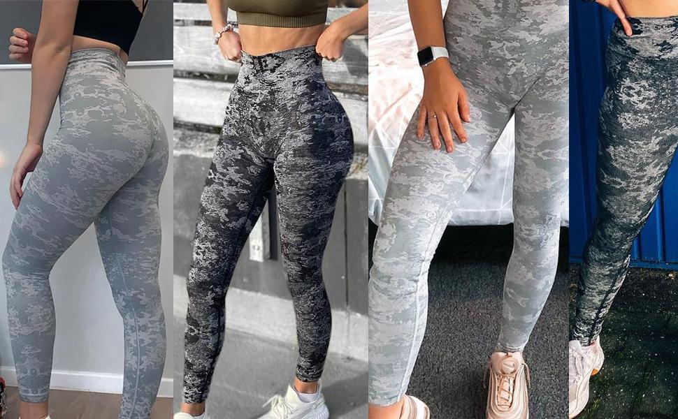 print sports yoga leggings