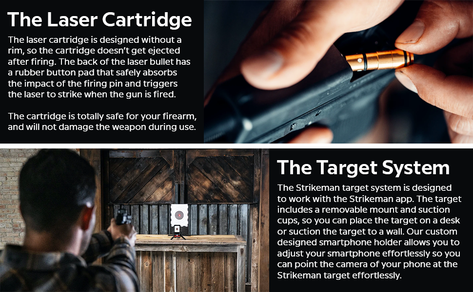 Cartridge and Target System