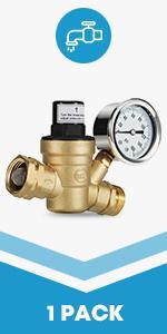rv water pressure regulator screw adjustable