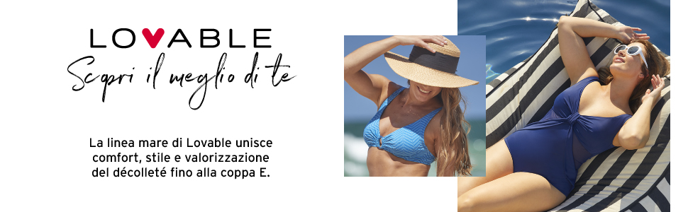 donna LOVABLE mare collezione 2021 bikini-interi