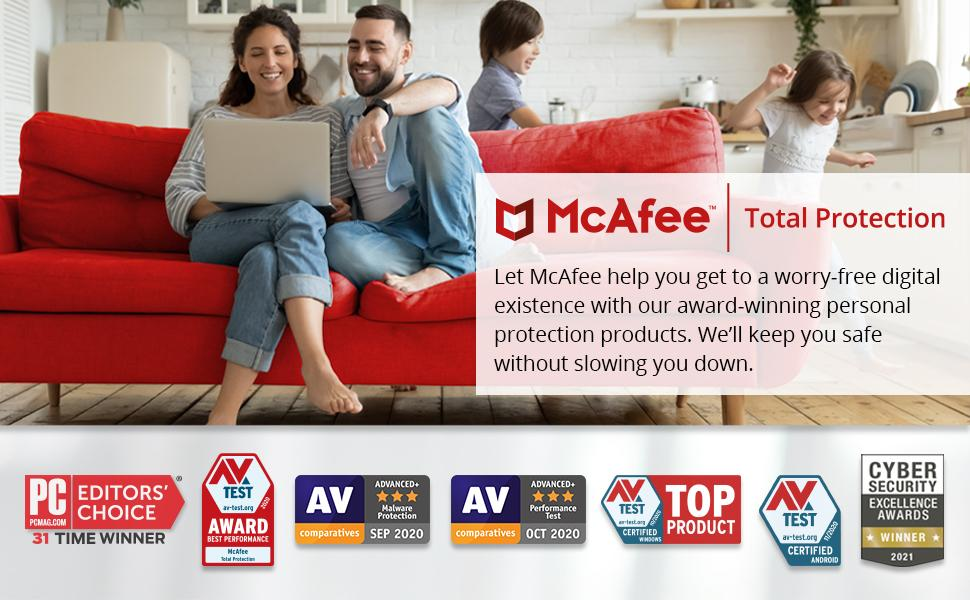 McAfee will keep you safe without slowing you down.