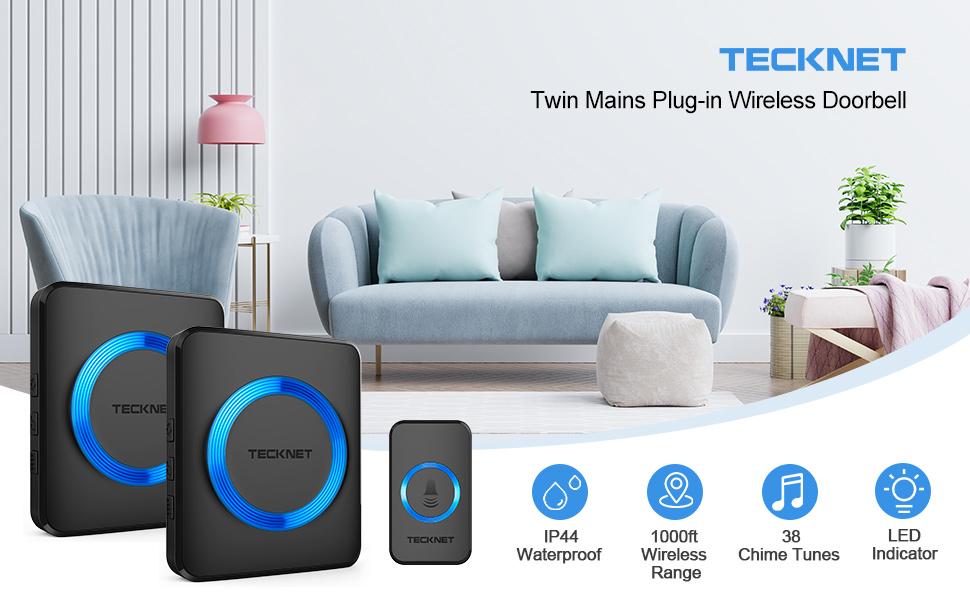 wireless doorbell Twin