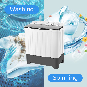 portable washing machine mini  dryer combo Twin Tub for apartments  Compact  RV  Camping Dorm dryer