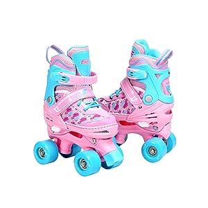 Quad Skates for Girls Youth 4 Wheels