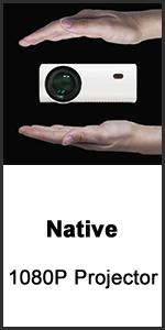 Native 1080P Projector