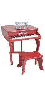 grand piano mini for adult triplay wood kids toddlers baby schoenhut my first learning system