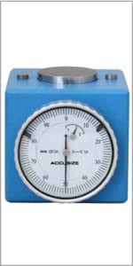Accusize 0801-0301 0-0.1 inch Dial Magnetic Z Axis Zero Setter