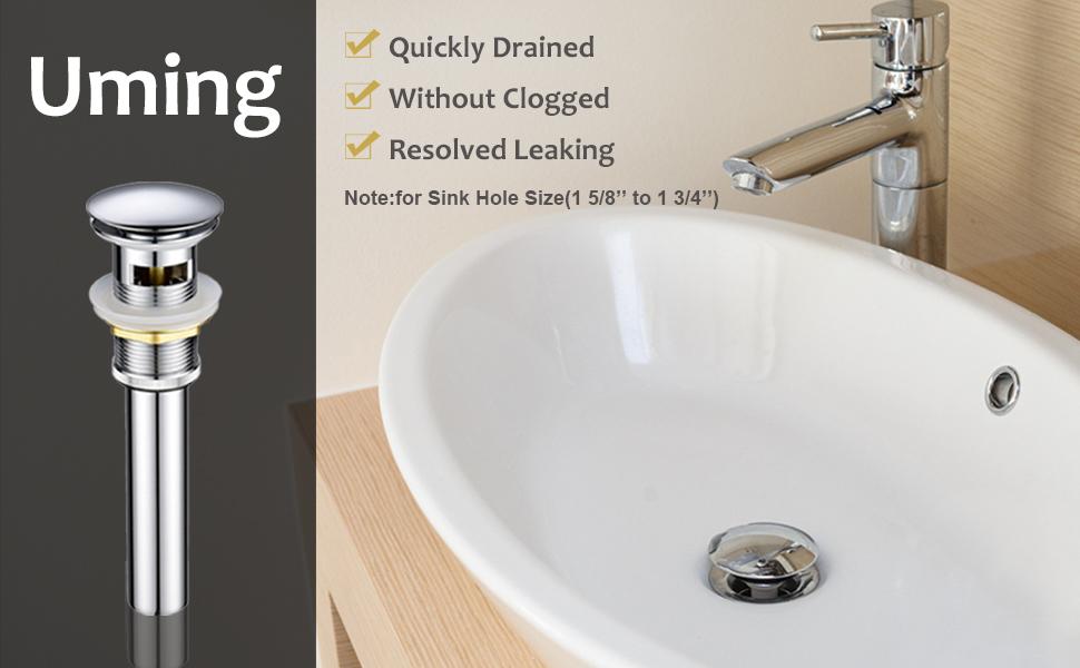 Bathroom Sink Drain Stopper Strainer Basket Hair Catcher pop up drain for bathroom sink stopper
