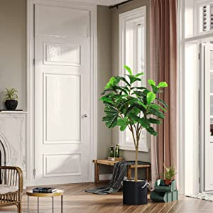 fake tree tall faux plants for home office decor artificial tree for living room decor