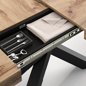 Table Emma - Porte-objets