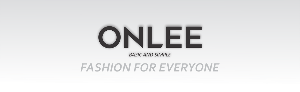 ONLEE Fashion for everyone