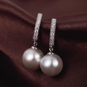 Orecchini perle argento