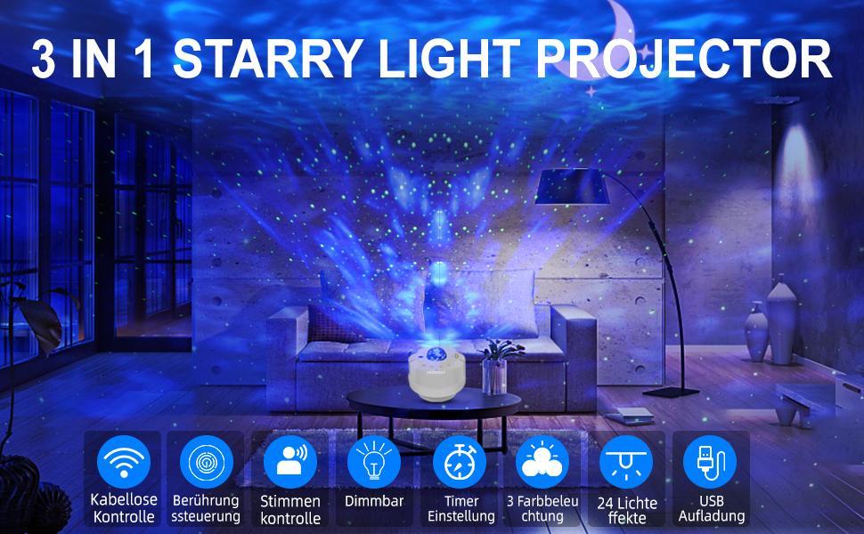 LED projektor zvjezdanog neba