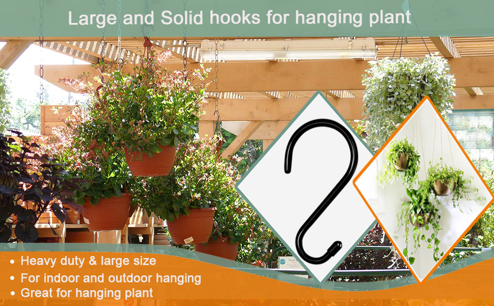 s hooks heavy duty  Large
