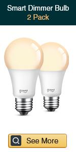 Gosund smart dimmable bulb 2 pack