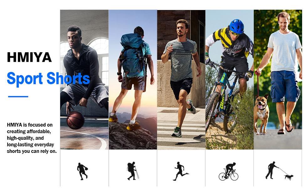 men running shorts