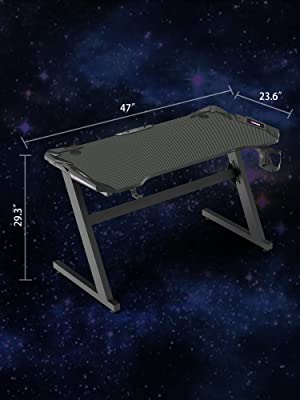 Gaming Desk Size