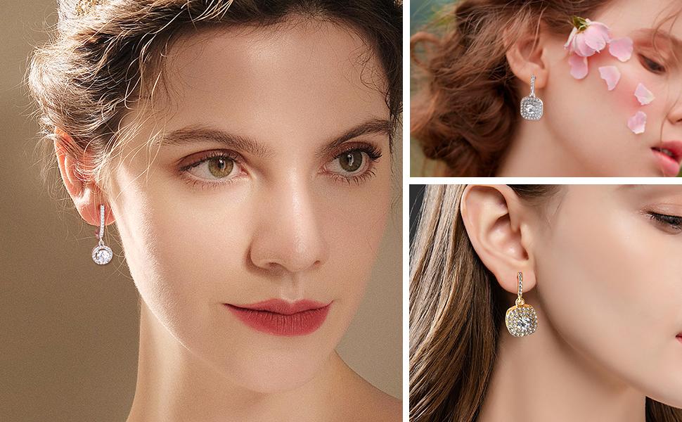 bridesmaid earrings for wedding