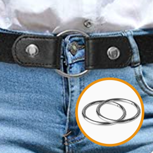 you can use circles to connect the two ends of the belt as a common belt.