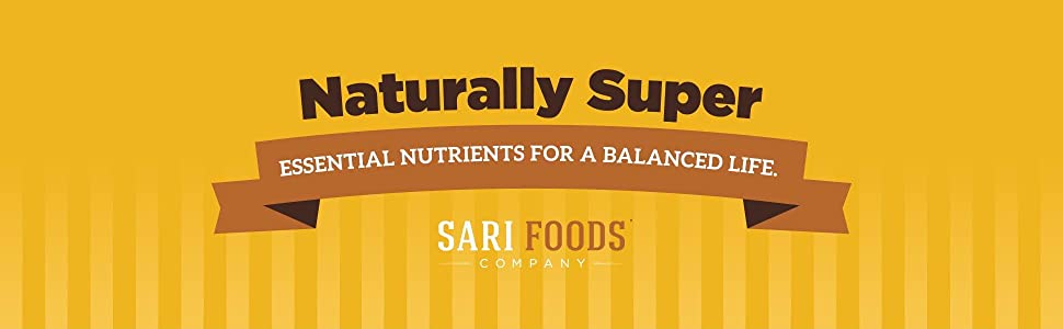 Naturally super, essential nutrients for a balanced life