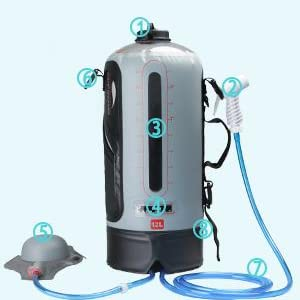 shower camping portable, portable shower for camping hot water, shower for camping, shower camping