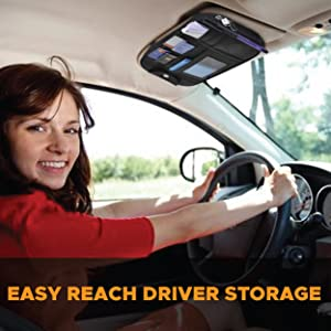 EcoNour Easy to Reach Driver Storage