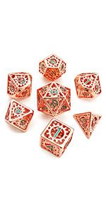 Metal hollow dice