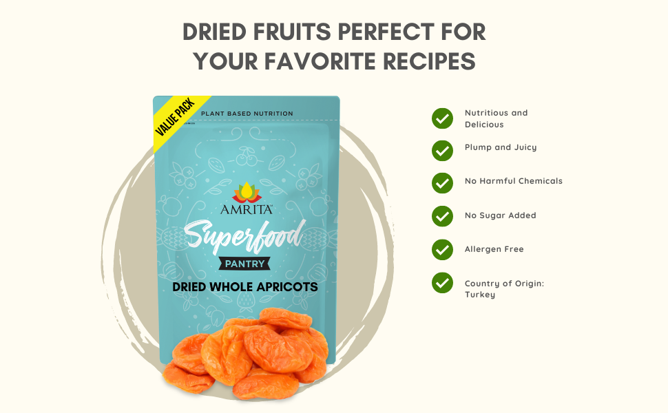 Dried fruits perfect for your favorite recipes