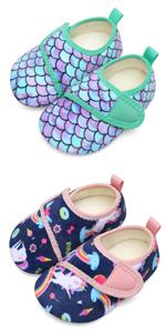Toddler Boys Girls Cozy Plush Slippers