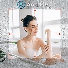 LED Bathroom Mirror: Anti-fog