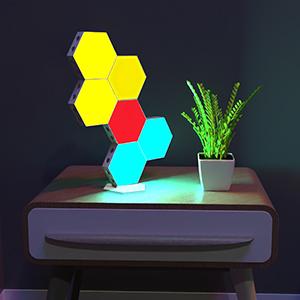 hexagon led light