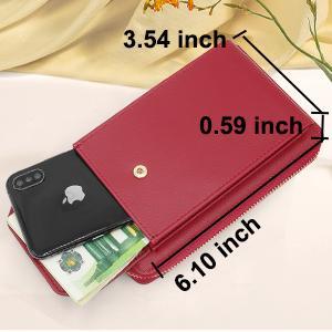 clutch wallet handy umhängetasche