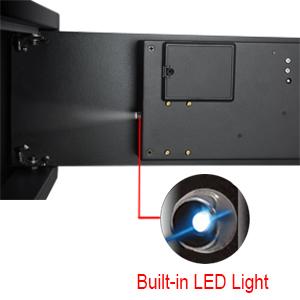 Built-in Led Light