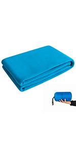 Multi-Purpose Fleece Sleeping Bag Liner