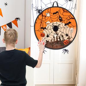 Halloween Themed Dart Game Board