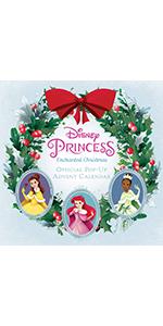 Disney Princess: Enchanted Christmas Official Pop-Up Advent Calendar