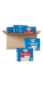 Pop-Tarts Breakfast Toaster Pastries, Variety Pack, 60 Count