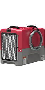 commercial dehumidifier in red