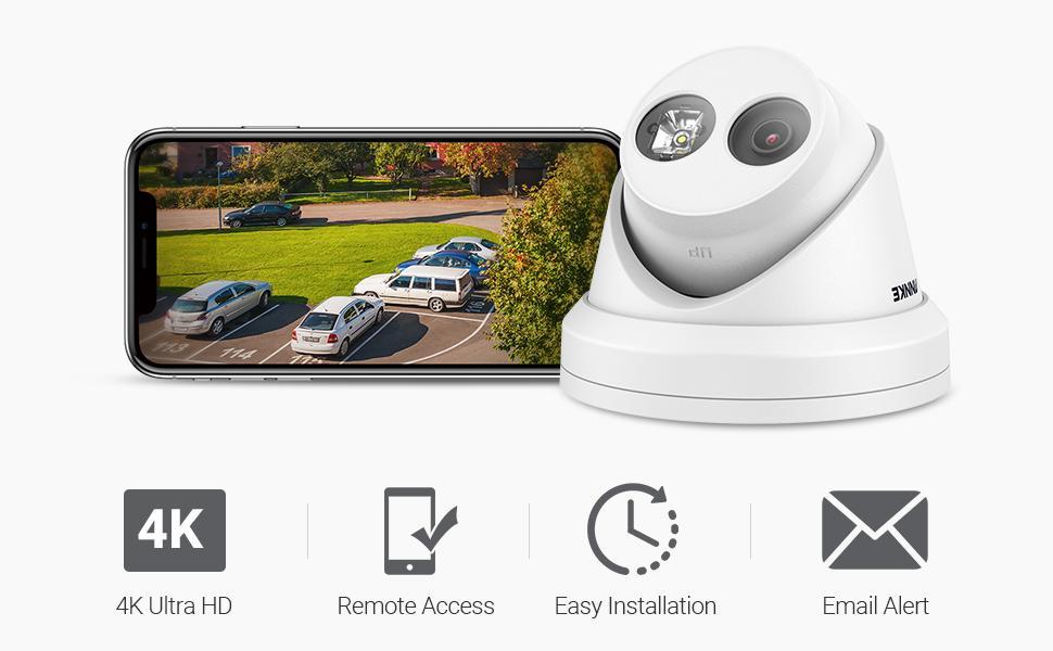 4K Secuerity camera