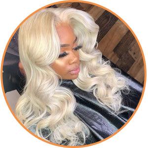 13X4X1 T Part HD 613 Frontal Wigs For Women