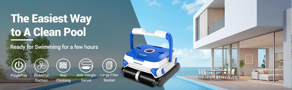 2021 upgraded pool cleaner