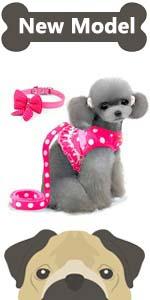 small girl dog harness