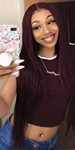 99j lace front wigs human hair