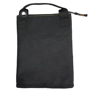 Zippered tool pouch with Convenient carry straps and hanging grommets