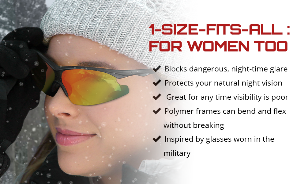 orginal taclight glasses with product information