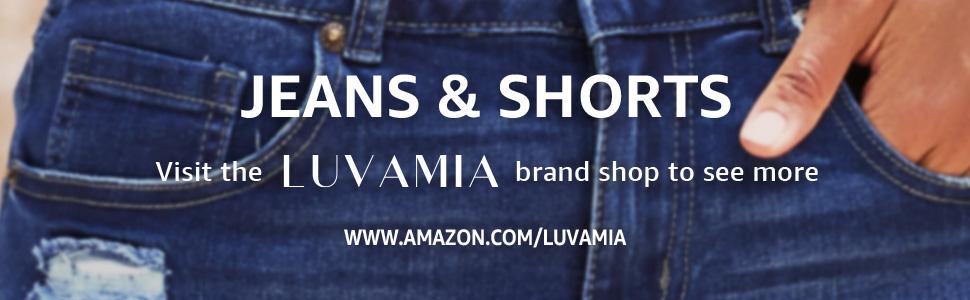 luvamia denim jeans fashion women jeans shorts for summer hot shorts pants luvamia shorts